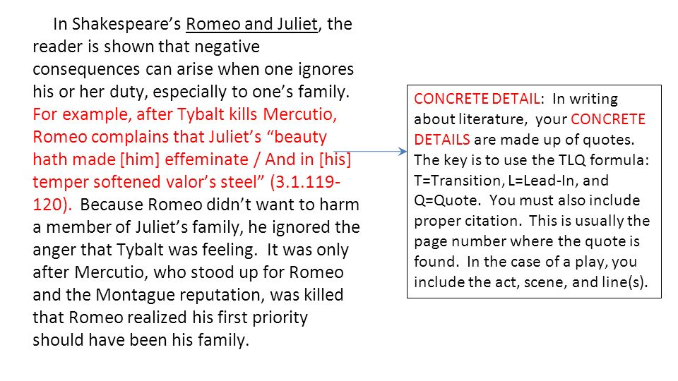 Proper Quote Integration Romeo And Juliet Adorable Quote Integration